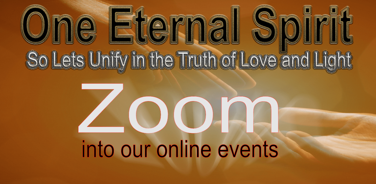 Zoom events at One Eternal Spirit